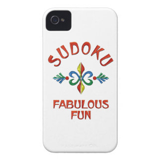 Sudoku Fabulous Fun iPhone 4 Case-Mate Cases