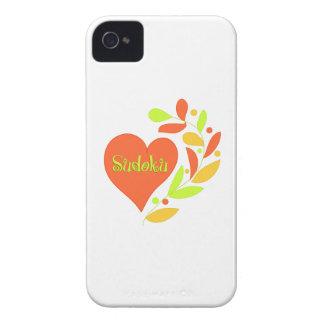Sudoku Heart iPhone 4 Case