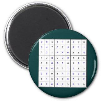 sudoku imán de frigorifico