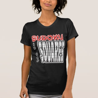 Sudoku is for Squares T-Shirt