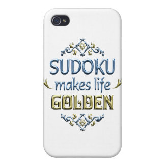 SUDOKU is Golden Cases For iPhone 4