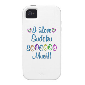 Sudoku Love So Much Vibe iPhone 4 Cover