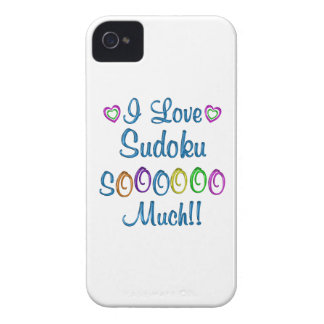 Sudoku Love So Much Case-Mate iPhone 4 Cases