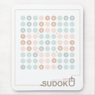 Sudoku Pastel Mouse Pad