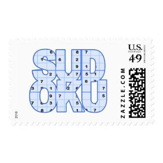 Sudoku Postage Stamp