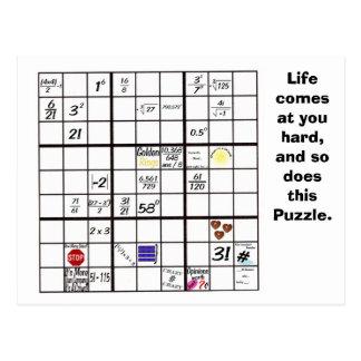 Sudoku Puzzle Cards