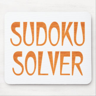 Sudoku Solver Mouse Pad