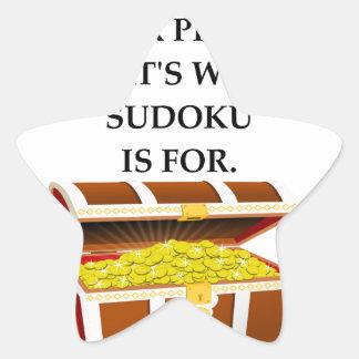SUDOKU STAR STICKER
