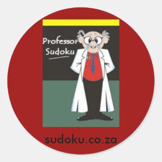 Sudoku Sticker Prof L