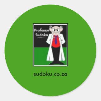 Sudoku Sticker Prof S