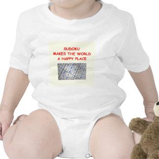 sudoku baby bodysuits