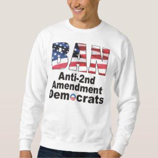 Sudor patriótico de Demócratas de la enmienda de Sudadera Con Capucha