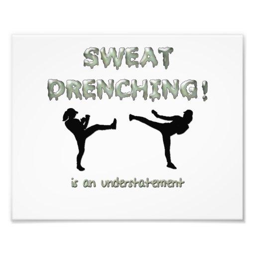 ¡Sudor que moja Kickboxing! es una subestimación Fotografía