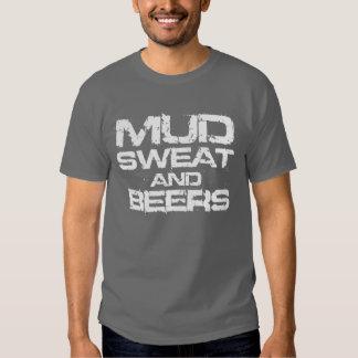 Sudor y cervezas del fango playera