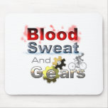 sudor y engranajes de la sangre alfombrilla de ratones