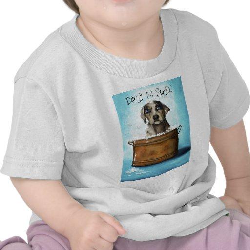 Suds del perro N Camiseta
