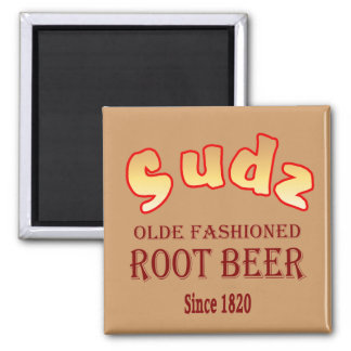 Sudz Root Beer Magnet