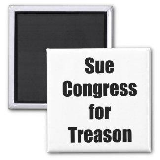 Sue Congress for Treason Magnet