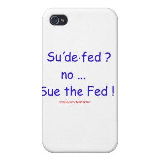 Sue el FED iPhone 4 Carcasas