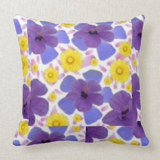 Sue Florah Throw Design Throw Pillow