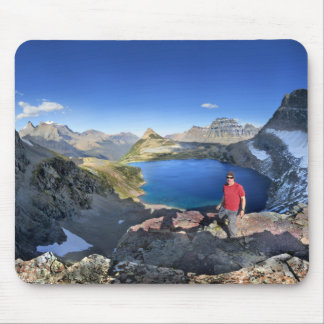 Sue Lake Overlook 2 - Glacier National Park Mouse Pad