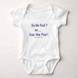 Sue the Fed Baby Bodysuit