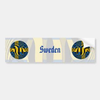 Suecia #1 pegatina para auto