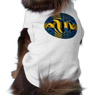 Suecia #1 playera sin mangas para perro