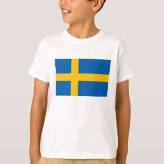 Suecia - bandera nacional sueca polera