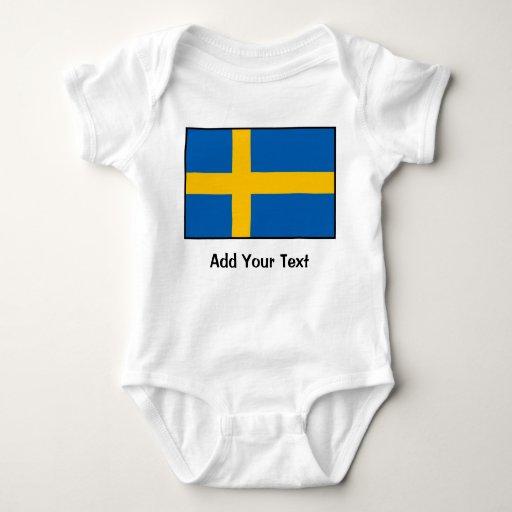 Suecia - bandera sueca camisas