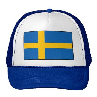 Suecia - bandera sueca gorros bordados