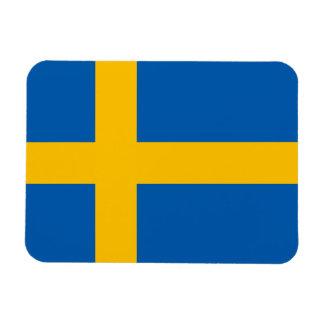 Suecia - bandera sueca rectangle magnet