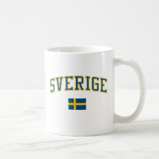 Suecia + Bandera Tazas
