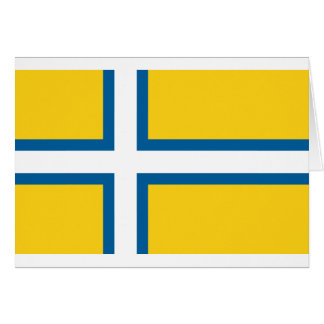 Suecia del oeste, Suecia Tarjeta De Felicitación