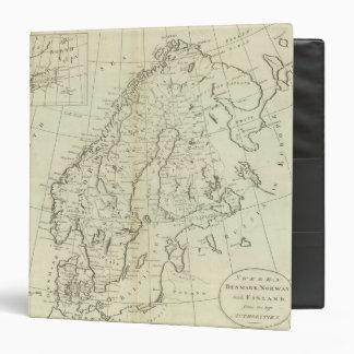 """Suecia, Dinamarca, Noruega, y Finlandia Carpeta 1 1/2"""""""