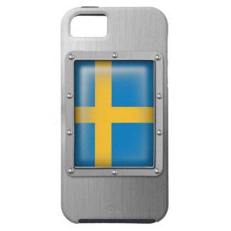 Suecia en acero inoxidable funda para iPhone SE/5/5s