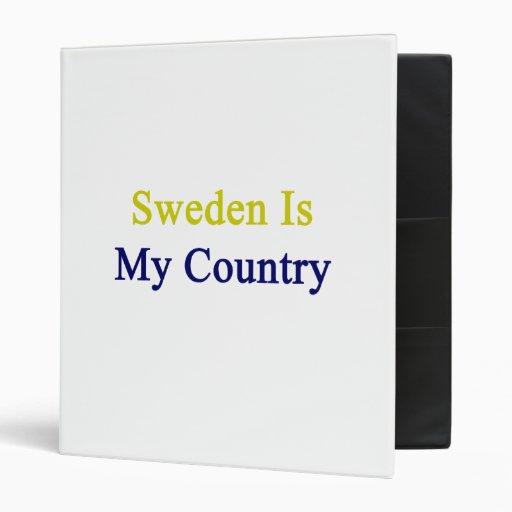 Suecia es mi país