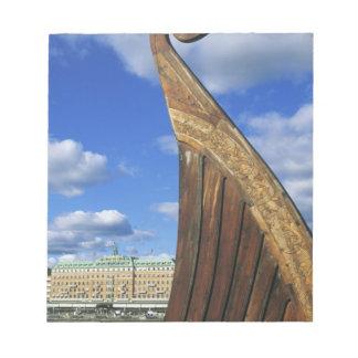 Suecia, Estocolmo, puerto, de Gamla Stan, Bloc De Notas