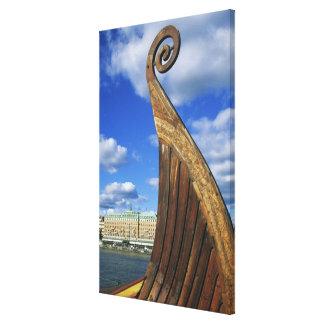 Suecia, Estocolmo, puerto, de Gamla Stan, Lienzo Envuelto Para Galerias