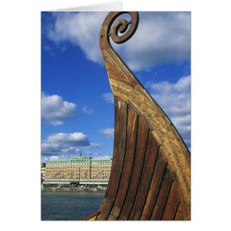 Suecia, Estocolmo, puerto, de Gamla Stan, Tarjeta De Felicitación