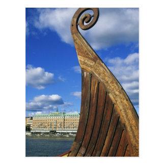Suecia, Estocolmo, puerto, de Gamla Stan, Tarjetas Postales