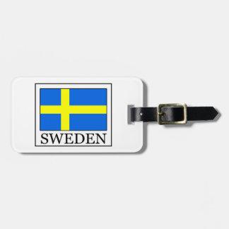 Suecia Etiquetas Para Equipaje