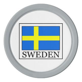 Suecia Fichas De Póquer