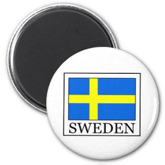 Suecia Imán Redondo 5 Cm