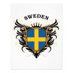 Suecia Invitaciones Personalizada