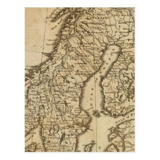 Suecia, Noruega 3 Tarjeta Postal