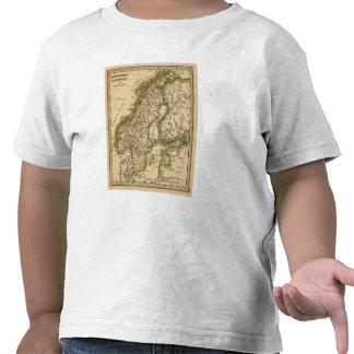 Suecia, Noruega, y Finlandia Camisetas