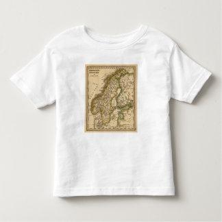 Suecia, Noruega, y Finlandia Tee Shirt