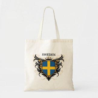 Suecia [personalice] bolsa tela barata