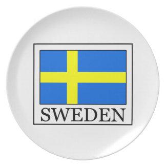 Suecia Plato De Comida